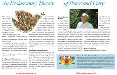 An Evolutionary Theory of Peace and Unity